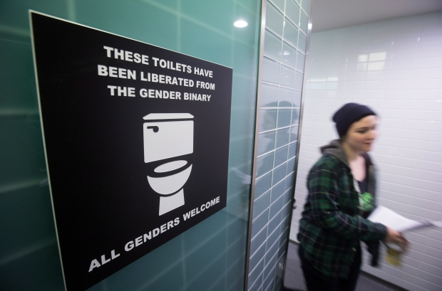 Transgender Students Protest As Canadian Schools Grapple With Washroom Debate