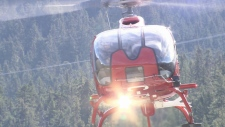 Whistler Blackcomb helicopter