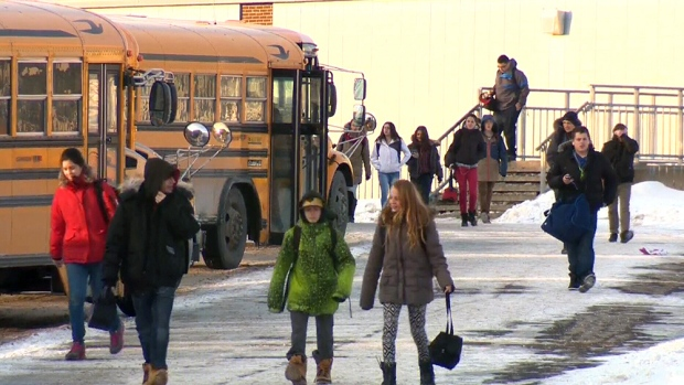 strip searches in schools High school teachers in quebec are under fire for strip searching students before a final exam staff at cap-jeunesse high school in saint-jerome were.