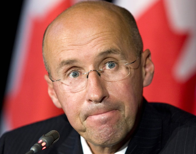 Parliamentary Budget Officer Kevin Page holds a news conference in Ottawa, Thursday, October 9, 2008. (Fred Chartrand / THE CANADIAN PRESS)