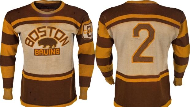 ... Eddie Shores Boston Bruins jersey ... 39761327747