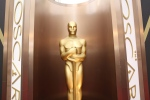 An Oscar statue appears at the Oscars at the Dolby Theatre in Los Angeles on March 2, 2014 (Matt Sayles/Invision/AP)
