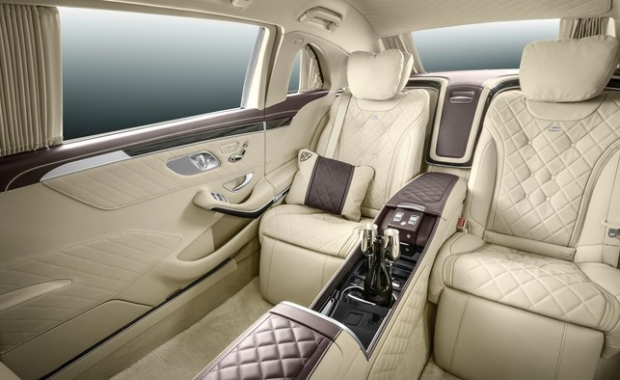 Mercedes Maybach Pullman Limousine Gets A Club Lounge
