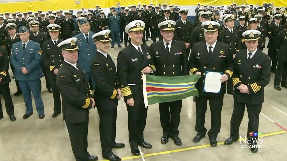 CTV Atlantic: HMCS Toronto gets rare commendation
