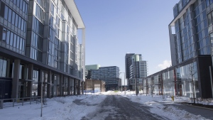 2015 PanAm games' athletes village