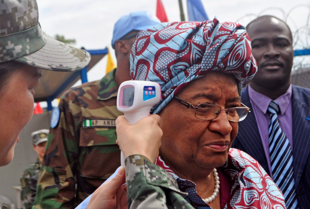 Liberia's president wants donor help after Ebola