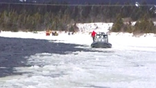 Snowmobile accident in southern Newfoundland