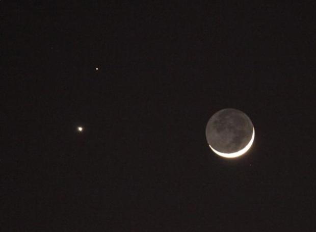Spectacular show during rare alignment of Mars, Venus ...