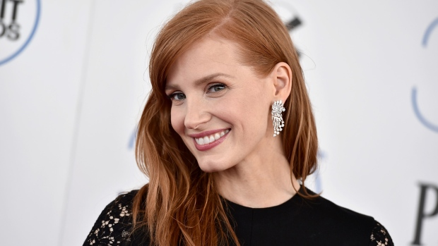 Jessica Chastain arrives at the 30th Film Independent Spirit Awards on Saturday, Feb. 21, 2015, in Santa Monica, Calif. (Jordan Strauss / Invision)