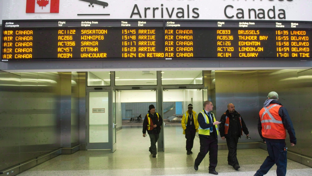 Normal operations resume at Pearson Airport after suspicious package investigation