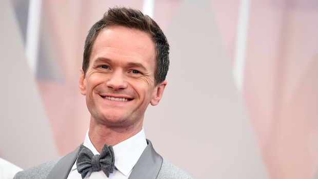 Neil Patrick Harris arrives at the Oscars on Sunday, Feb. 22, 2015, at the Dolby Theatre in Los Angeles. (Jordan Strauss / Invision)