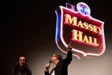 Geddy Lee, Alan Cross at Massey Hall