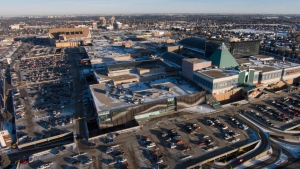 West Edmonton Mall is seen in this file photo from February 22, 2015.
