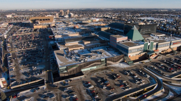 After backlash west edmonton mall to open at noon on for Garage package edmonton
