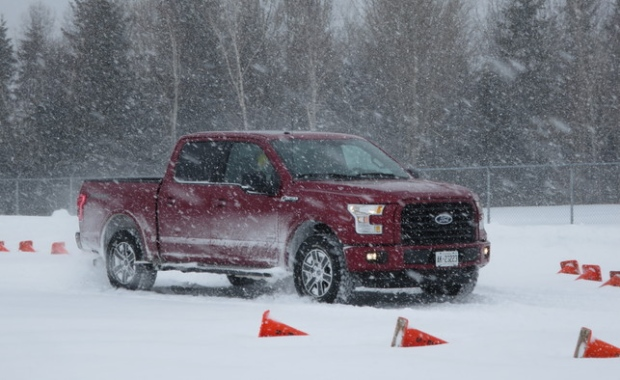 Ford F  Handles Canadian Winter Weather With Ease