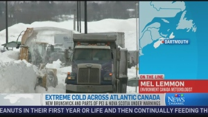 CTV News Channel: 'Quick burst of cold air'