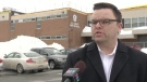 """Liberal MLA Brendan Maguire, who represents the area including J.L. Ilsley High School, said he was """"disheartened"""" and """"angry"""" at the state of the school."""