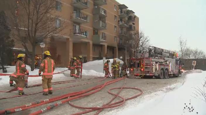 Cote des Neiges fire sends 5 to hospital