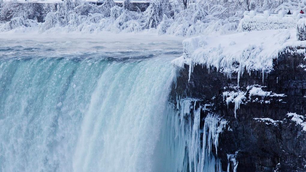 Does Niagara Falls actually freeze?