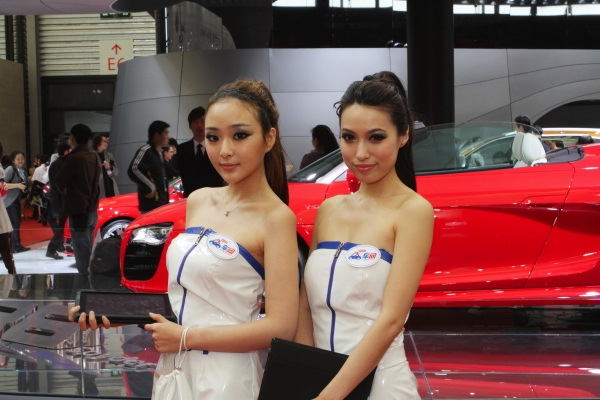 Shanghai Auto Show Bans Use Of Booth Babe Models CTV News Autos - Car show models photos