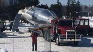 Atlas Rocket dismantled