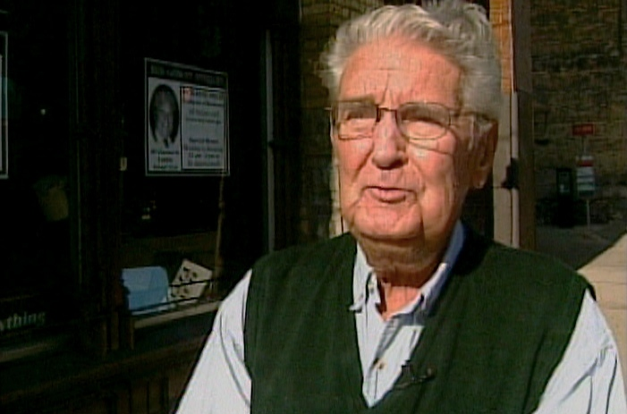 Retailer Bud Gowan is seen outside his antiques store on Clarence St. in downtown London, Ont. in Oct. 2012.