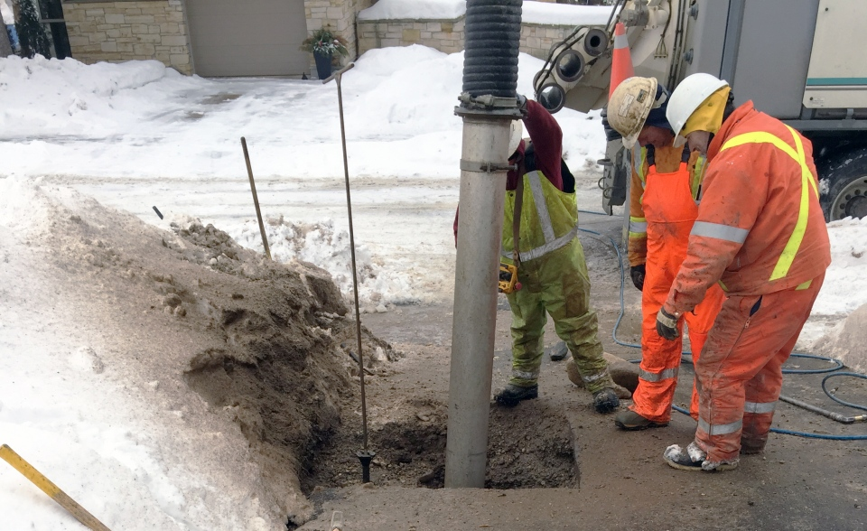 Water main breaks a regular occurrence in guelph during for Acqua salon guelph