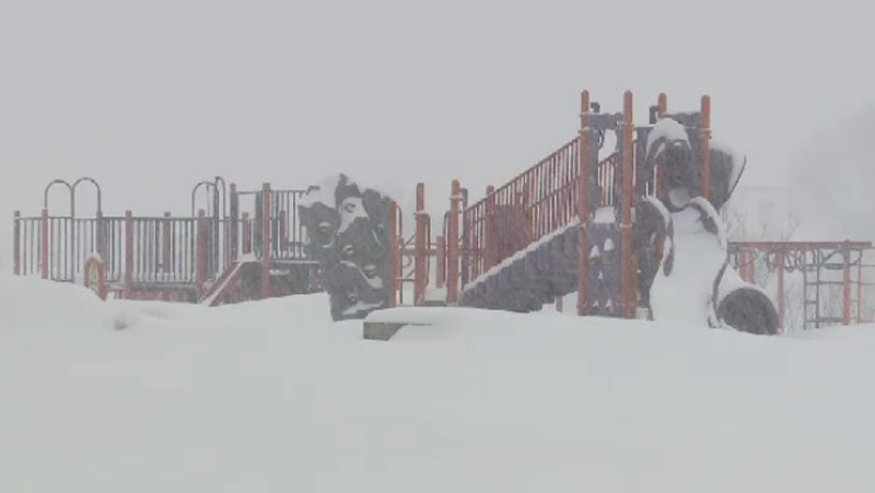 For some schools in New Brunswick, Wednesdays closures were the 11th snow day so far this season.