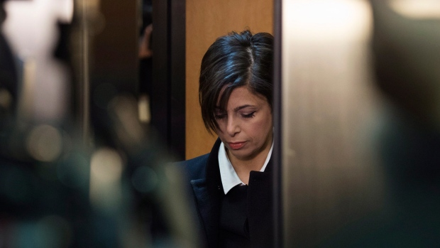 Marie Henein arrives at court