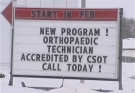 A new Orthopaedic Technician Program is launched at Westervelt College in London, Ont. on Thursday, Feb. 26, 2015.