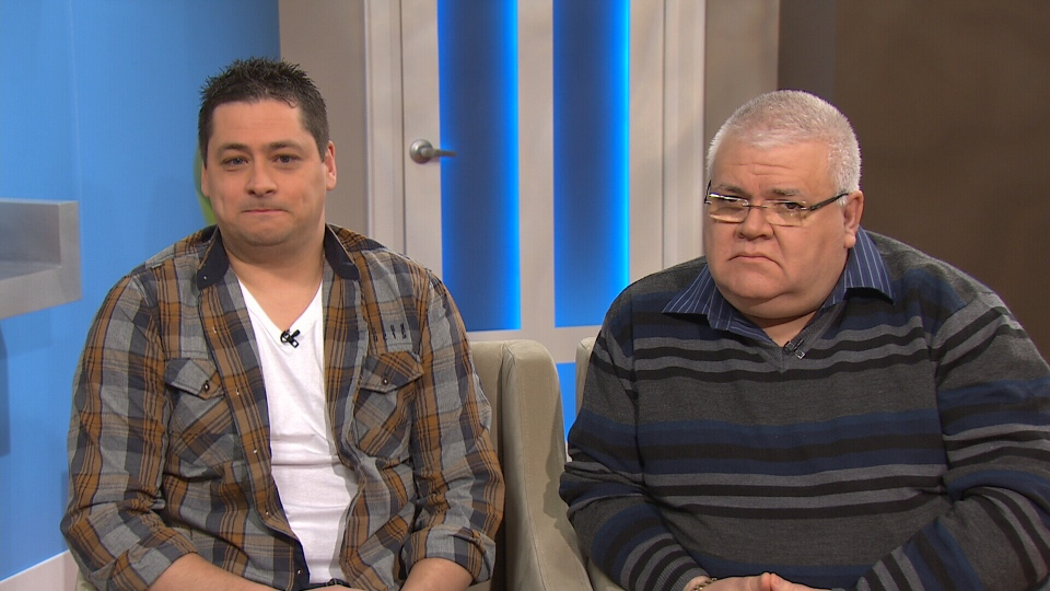Kevin Davison and Vince Savoia appear on CTV's Canada AM on Friday, Feb. 27, 2015.