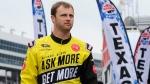 Travis Kvapil at Texas Motor Speedway on April 6, 2014. (AP / Ralph Lauer)