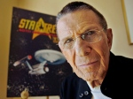 Leonard Nimoy poses for a photograph in Los Angeles in 2006. (AP / Ric Francis)