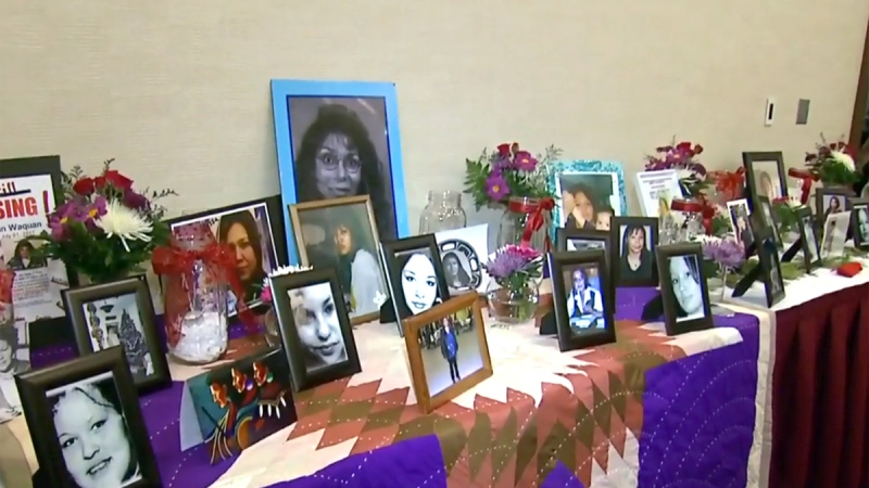 Murdered and missing Indigenous women