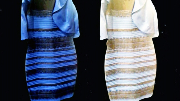 The Dress Dividing The Internet Is It Black And Blue Or White And Gold Ctv News