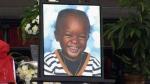The funeral for 3-year-old Elijah Marsh is being held in Toronto on Saturday, Feb. 28, 2015.