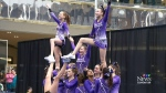 A dozen cheerleading teams have pulled out of a major competition set to start next week at West Edmonton Mall.