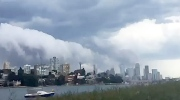 Extended: Time lapse of storm clouds in Australia