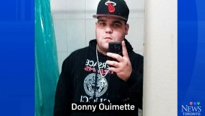 Family members identified Donny Ouimette, 25, as one of the men shot at McDonald's.
