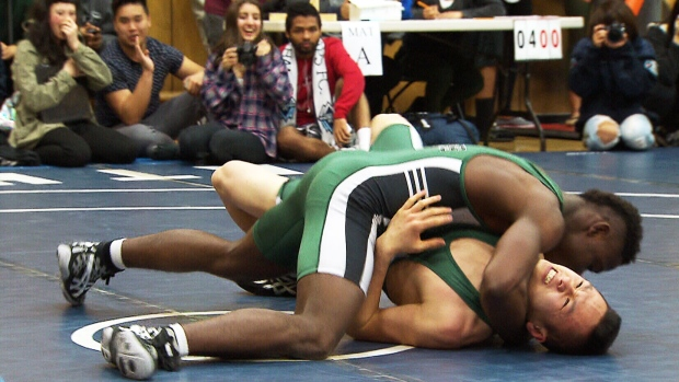 Teen From Liberia Finds Purpose On Wrestling Mat Of B C