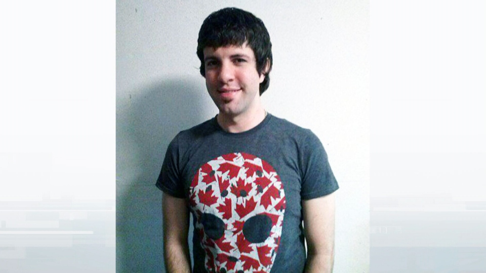 Matt DeHart, the alleged Anonymous hacker being deported to the U.S., is seen in this undated picture.