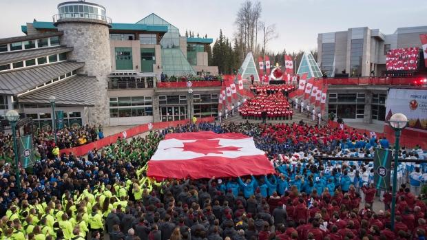 Canada Winter Games closing ceremonies