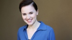 'Divergent' author Veronica Roth poses in Beverly Hills, Calif., on March 8, 2014. (Annie I. Bang / Invision)