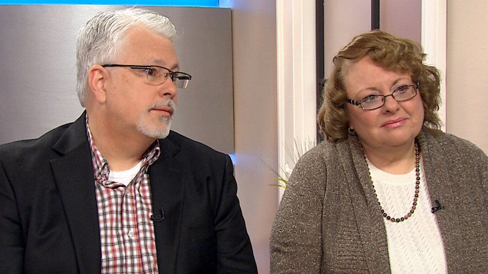 Paul and Leann DeHart speaks to CTV's Canada AM on Monday, March 2, 2015.