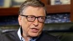 Microsoft co-founder Bill Gates speaks during an interview on the Fox Business Network in Omaha, Neb., on May 5, 2014. (AP / Nati Harnik)