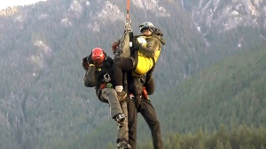 CTV Vancouver: Hikers rescued on North Shore