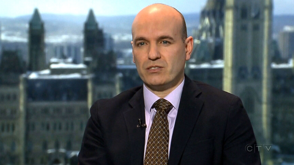 NDP finance critic Nathan Cullen speaks with CTV News in Ottawa, Monday, March 2, 2015.