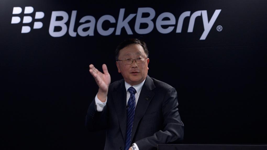 Blackberry's John Chen at MWC