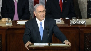 Israeli PM delivers speech to Congress