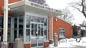 Police are investigating reports that a webcam performer filmed sex acts at a Windsor, Ont. library.